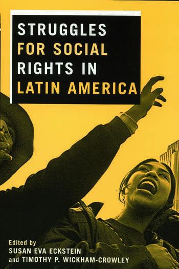 Struggles for Social Rights in Latin America book cover