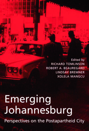 Emerging Johannesburg book cover