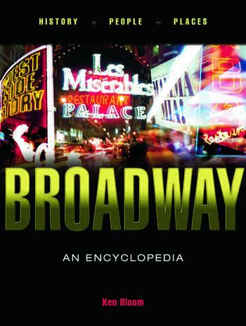 Broadway An Encyclopedia book cover