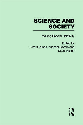 The Roots of Special Relativity Science and Society book cover