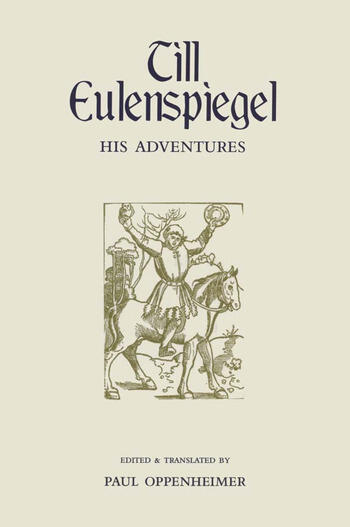 Till Eulenspiegel His Adventures book cover