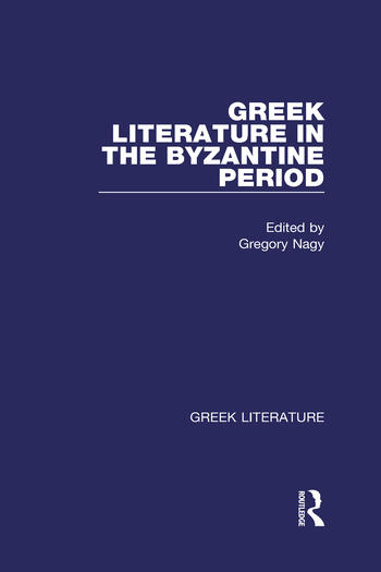 Greek Literature in the Byzantine Period Greek Literature book cover