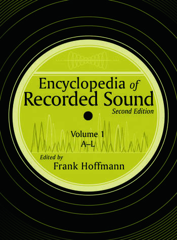 Encyclopedia of Recorded Sound book cover