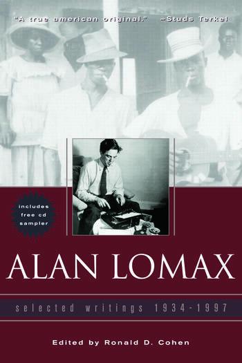 Alan Lomax Selected Writings, 1934-1997 book cover