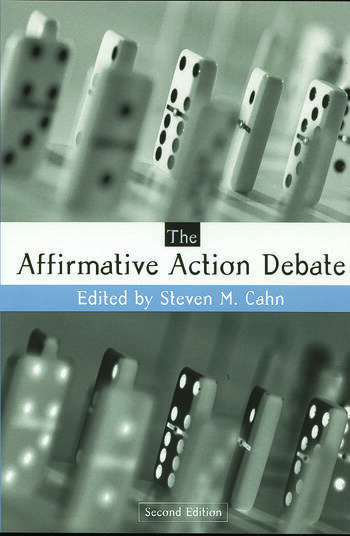The Affirmative Action Debate book cover