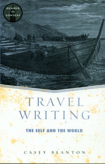 Travel Writing book cover