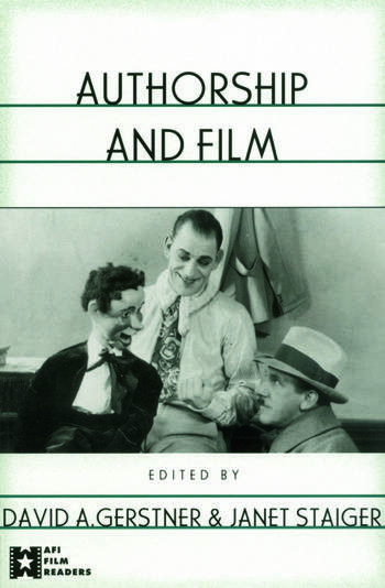 Authorship and Film book cover