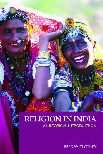 Religion in India A Historical Introduction book cover