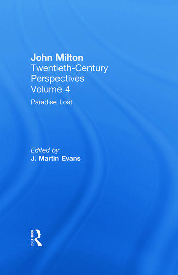 Paradise Lost John Milton: Twentieth Century Perspectives book cover