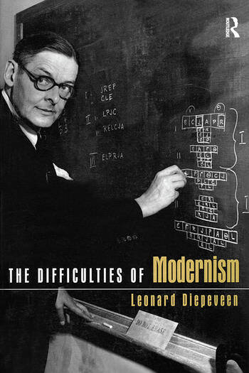 The Difficulties of Modernism book cover