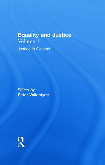 Justice in General Equality and Justice book cover