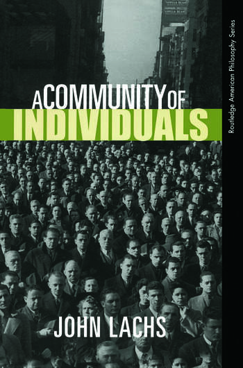 A Community of Individuals book cover