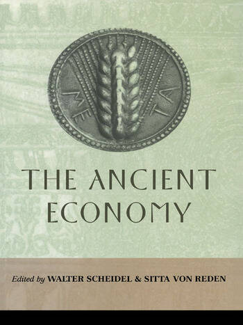 The Ancient Economy book cover