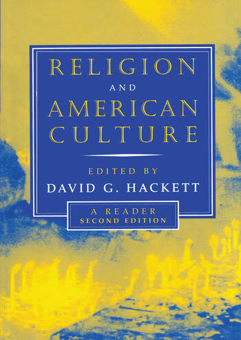 Religion and American Culture A Reader book cover
