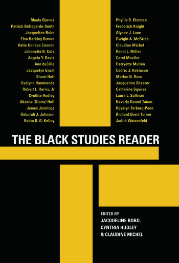 The Black Studies Reader book cover