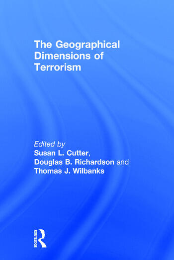 The Geographical Dimensions of Terrorism book cover