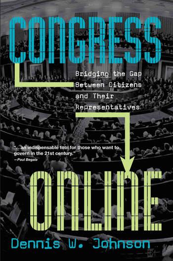 Congress Online Bridging the Gap Between Citizens and their Representatives book cover