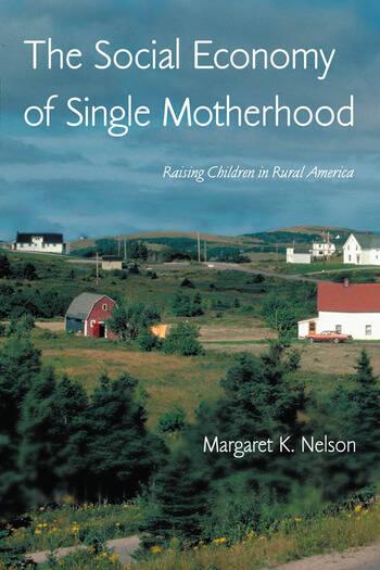 The Social Economy of Single Motherhood Raising Children in Rural America book cover