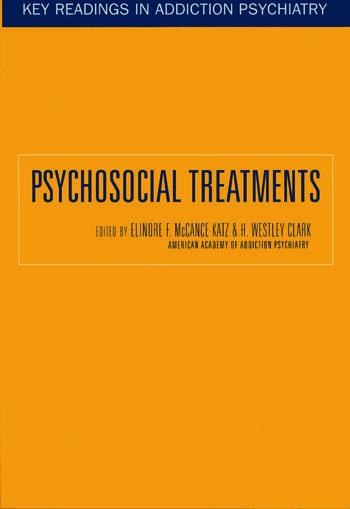 Psychosocial Treatments book cover