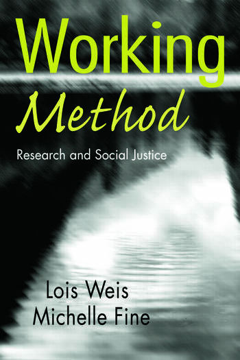Working Method Research and Social Justice book cover