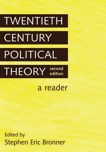 Twentieth Century Political Theory A Reader book cover