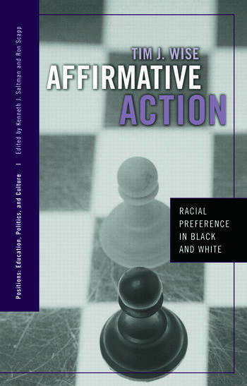 Affirmative Action Racial Preference in Black and White book cover