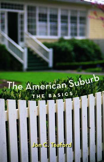 The American Suburb The Basics book cover
