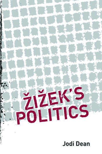 Zizek's Politics book cover