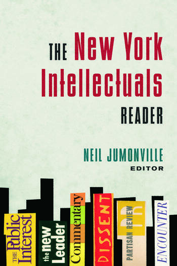 The New York Intellectuals Reader book cover