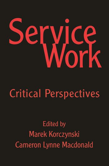 Service Work Critical Perspectives book cover