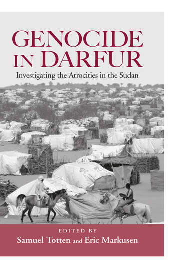 Genocide in Darfur Investigating the Atrocities in the Sudan book cover