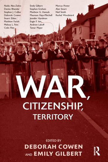 War, Citizenship, Territory book cover