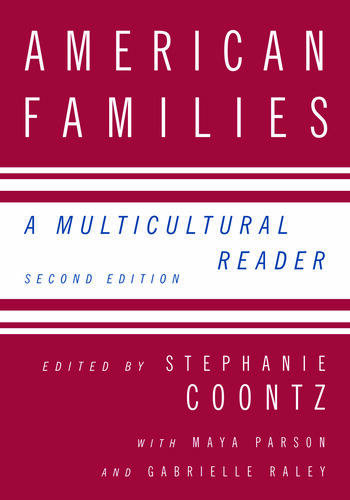 American Families A Multicultural Reader book cover