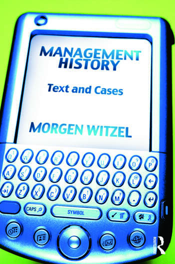 Management History Text and Cases book cover