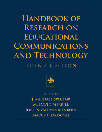 Handbook of Research on Educational Communications and Technology Third Edition book cover