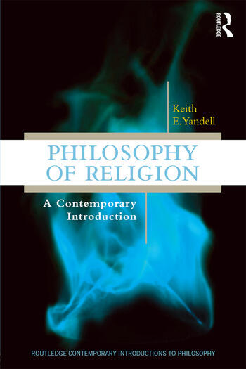 Philosophy of Religion A Contemporary Introduction book cover
