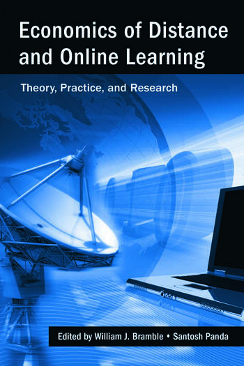 Economics of Distance and Online Learning Theory, Practice and Research book cover