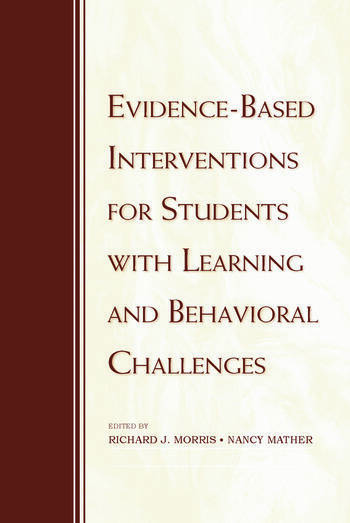 Evidence-Based Interventions for Students with Learning and Behavioral Challenges book cover
