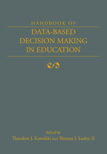Handbook of Data-Based Decision Making in Education book cover