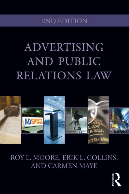 Advertising and Public Relations Law book cover