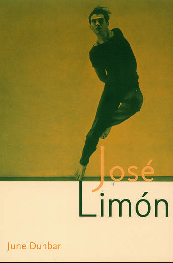 Jose Limon An Artist Re-viewed book cover