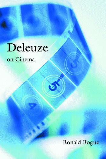Deleuze on Cinema book cover