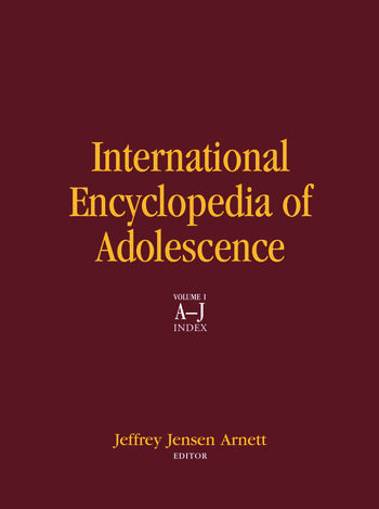 International Encyclopedia of Adolescence book cover