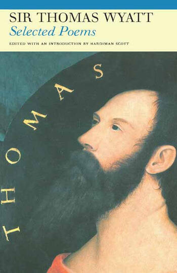 Selected Poems of Sir Thomas Wyatt book cover