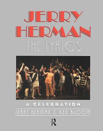 Jerry Herman The Lyrics book cover