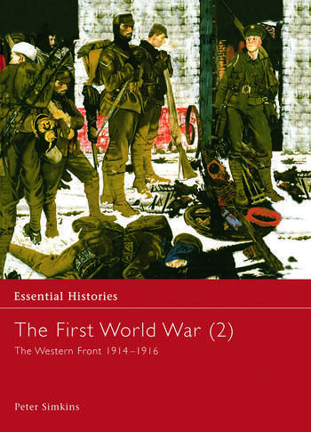 The First World War, Vol. 2 The Western Front 1914-1916 book cover