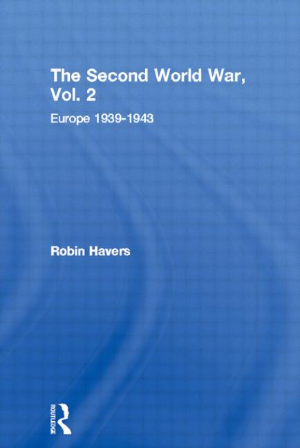 The Second World War, Vol. 2 Europe 1939-1943 book cover