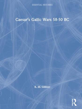 Caesar's Gallic Wars 58-50 BC book cover