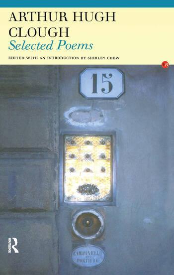 Arthur Hugh Clough Selected Poems book cover