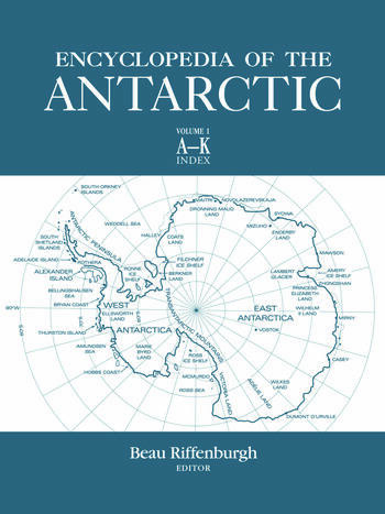 Encyclopedia of the Antarctic book cover